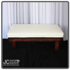 "4' x 24"" Cushion Bench"