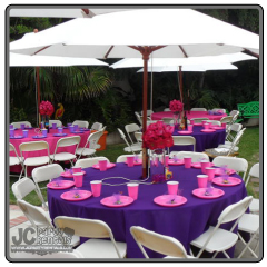 Garden Umbrella Outdoor Table Rentals