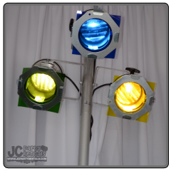 Triple Par Pole Lighting